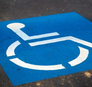 handicap parking available at evolution medical associates